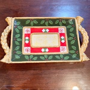Holiday  Serving Plate - by Studio Nova
